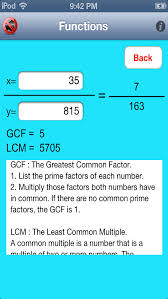 math is easy prime factorization and equation solver screenshot 2