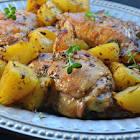 baked greek lemon chicken
