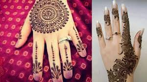 Simple Round Mehndi Design 9 Latest And Popular Gol Tikka Mehndi Designs Styles At Life