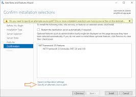 how to install the net framework 3 5