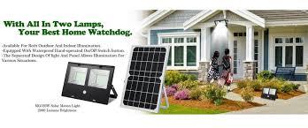 Watchdog Solar Security Light Shenzhen Bonar Technology Co Ltd Solar Flood Light