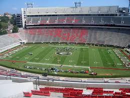 Uga Stadium Chart Georgia Football Sanford Stadium Seating Chart