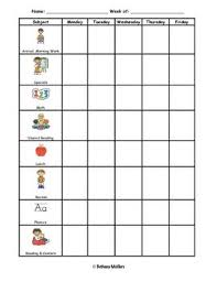Rti Behavior Chart Individual Student Behavior Chart Graph Special Education