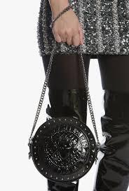 Balmain H M Size Chart Patent Leather Disco Bag For Women Balmain Com