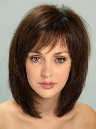 Hairstyle Medium Long Hair medium hairstyles for round faces 4367 by stevesalt.us