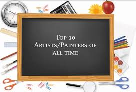 top 10 artists painters of all time