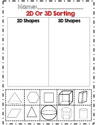 Shapes Worksheets Pdf Color By Shape Worksheet Grade Shapes ...