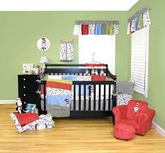 dr seuss crib bedding trend lab 3 piece cat and things set