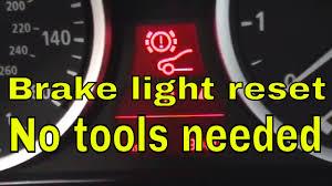Brake Pad Warning Light On Bmw 3 Series How To Reset Brake Pad Light On Bmw