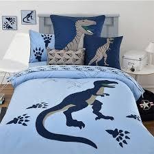 light blue boys dinosaur and paw print