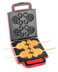 Mickey Mouse Kitchen Appliances Amazoncom Disney Dcm 41 Classic Mickey Waffle Stick Maker Red
