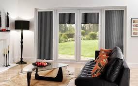 elegant window treatment ideas for sliding glass doors