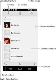 Phone And Address How To Access The Address Book On Your Android Phone Dummies