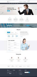 Financial Advisor Responsive Website Template Http