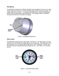 aem analog boost metric gauge 305132m user manual Wiring Diagram For A Aem Boost Gauge page 4 page 4 backlighting the aem boost gauge has 7 different backlight colors available to Defi Boost Gauge Wiring
