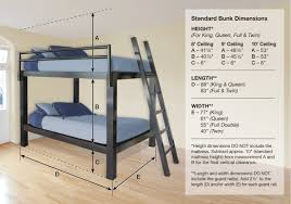 bunk bed for adults  francis lofts  bunks