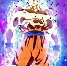 Goku Limit Breaker Light Poster Goku Limit Breaker Mastering Ultra Instinct Dragon Ball Z