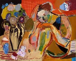 art of spain modern spanish painting painters merello woman and