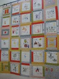 12 best Quilting with Kids images on Pinterest | Quilt patterns ... & Kids drawings with fabric pens Adamdwight.com