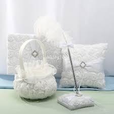 Wedding Pillow And Guest Book Sets