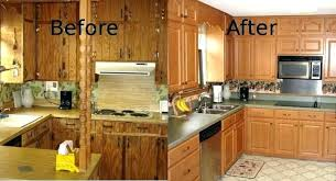 Cabinet refacing before and after After Pics Cabinet Refacing Before And After Kitchen Cabinet Nhance Cabinet Refacing Before And After Enchanting Cabinet Refacing Before