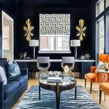 navy blue living room decor blue and gold living room decor ideas for rooms