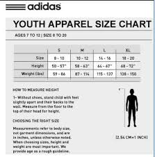 Size Chart Adidas Kid Adidas Boys Cuffed Bottom Active Pull On Pants Navy L 14 16 Polyester