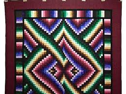Bargello Links Quilt -- marvelous specially made Amish Quilts from ... & ... Almost Amish Bargello Links Quilt Photo 2 ... Adamdwight.com