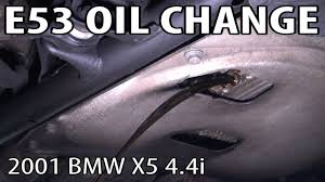 BMW 3 Series bmw x5 4.4 oil : How to do an Oil Change on an E53 BMW X5 4.4i - YouTube