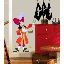 Pirate Accessories For Bedroom Jake And The Neverland Pirates Wall Stickers Ebay
