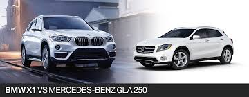 2018 BMW X1 vs. 2018 Mercedes-Benz GLA in Fort Lauderdale, FL