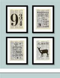 harry potter everything and a book hangover harry potter decor