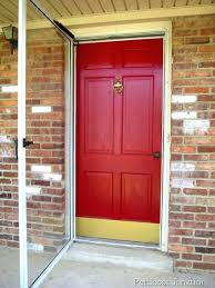 painting metal doors best paint for metal doors a front door pertaining to painting in plan painting metal doors