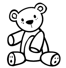 Small Picture Teddy Bear Coloring Page for Kids Teddy Bear Coloring Page for