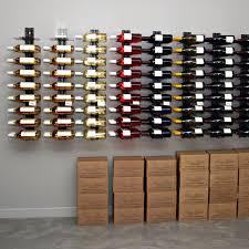 wall wine rack visiorack made of metal for horizontal storage on metal wall wine racks art with wall wine rack visiorack module 1 vertical wine rack storage