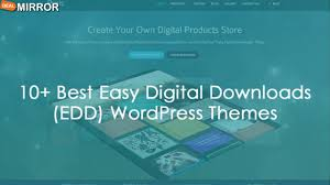 Theme Downloads 10 Best Easy Digital Downloads Edd Wordpress Themes 2016 Youtube