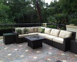 outdoor sofa set with gas fire pit table regarding outdoor sectional with firepit