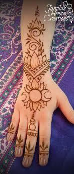 Moon Henna Lotus Wwwjamilahhennacreationscom татуировки хной