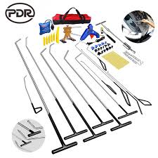 2019 PDR Hook Tools Kit Push Rod Car Body Dent Removal Paintless Repair Puller Hail Damage Set From Zhangliang1993, $761.81 | DHgate.Com