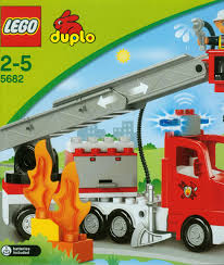 Lego Duplo Light And Sound Fire Truck Lego Duplo Lights And Sounds Fire Truck 5682