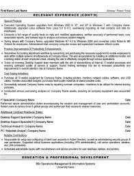 desktop support specialist resume sample template simple resume template - Desktop  Support Specialist