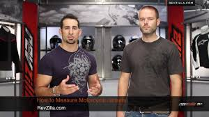 How To Measure Motorcycle Jacket Size At Revzilla Com