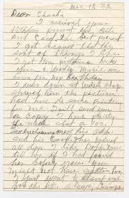 1983 William Gaston Lynskey letter to Charles Anthony Lynskey