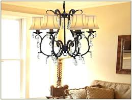 crystal chandelier shade replacement lamp shades french country table f lighting fixtures chandelier with shade and