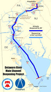 Main Channel Deepening Philaport