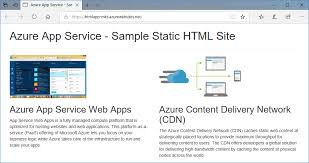 Micro Soft Home Page Create Static Html Web App Azure App Service Microsoft Docs