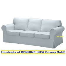 Ektorp Nordvalla Light Blue Ikea Ektorp Three 3 Seat Sofa Slipcover Cover Nordvalla Light Blue New Sealed