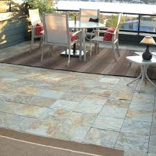 patio floor tiles outdoor slate floor patio