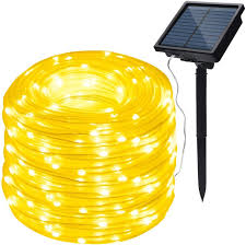 Solar Rope Lights For Garden Image 8 Modes Solar Rope Lights Outdoor String Lights 78 7 Feet 20m Waterproof 200led For Indoor Outdoor Garden Party Patio Lawn Decor Warm White