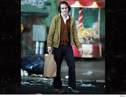 joaquin phoenix is taking a at playing the clown prince of gotham and he seems to be doing a good job at it so far even without any makeup